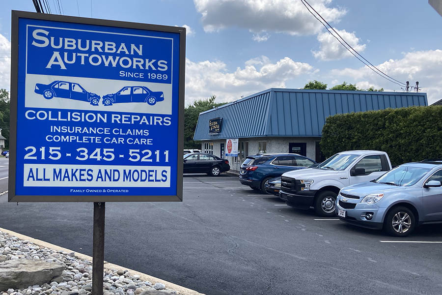 suburban autoworks collision center